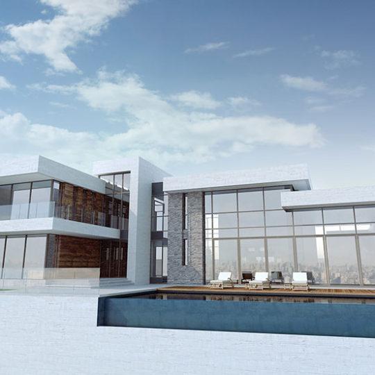Referentie project modern woonhuis