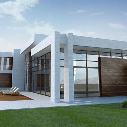 Referentie project Villa in Yerevan