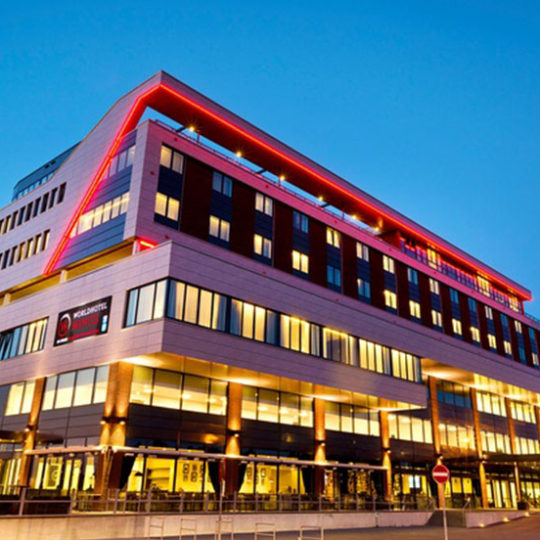 Referentie project Wings hotel Rotterdam